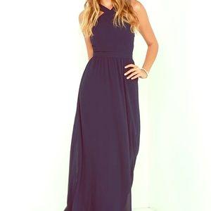 Navy blue Lulu dress